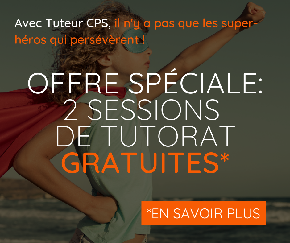 sessions tutorat offertes