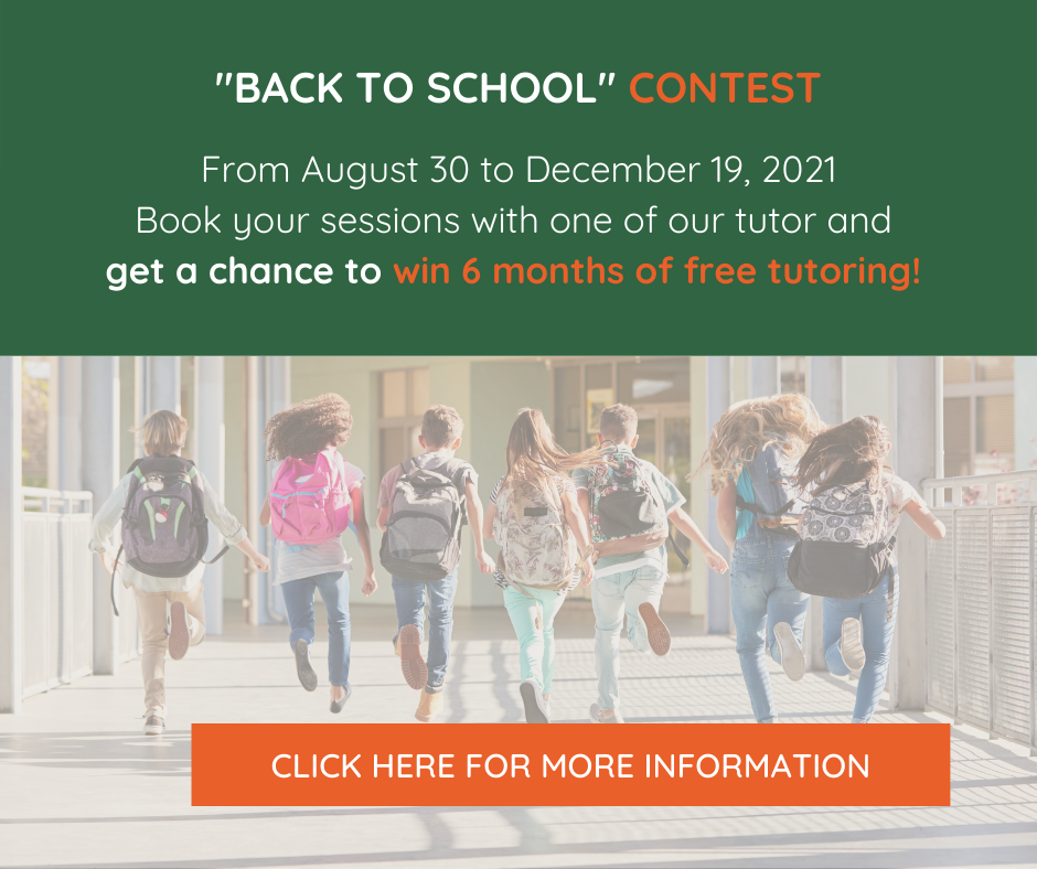 Back to school - free tutoring contest - CPS Tutoring